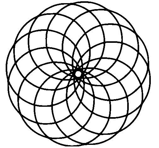 Desenho de Mandala 4 para Colorir