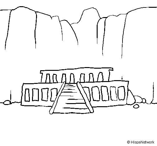Desenho de O Vale dos Reis para Colorir