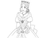 Dibujo de Princesa medieval