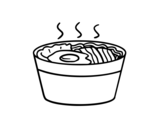 Dibujo de Ramen