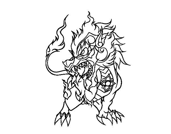 Desenho de Singha para Colorir