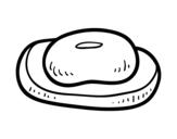 Desenho de Uma barra de sabão para colorear