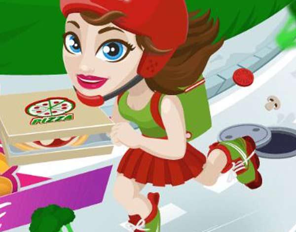 Pizza em patins
