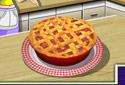 Torta o ruibarbo