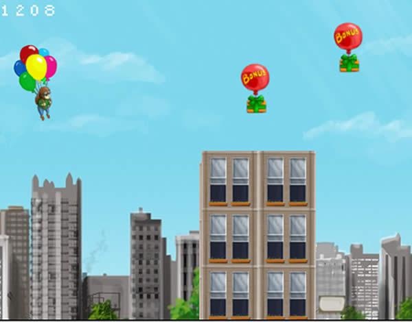 Voo com balões