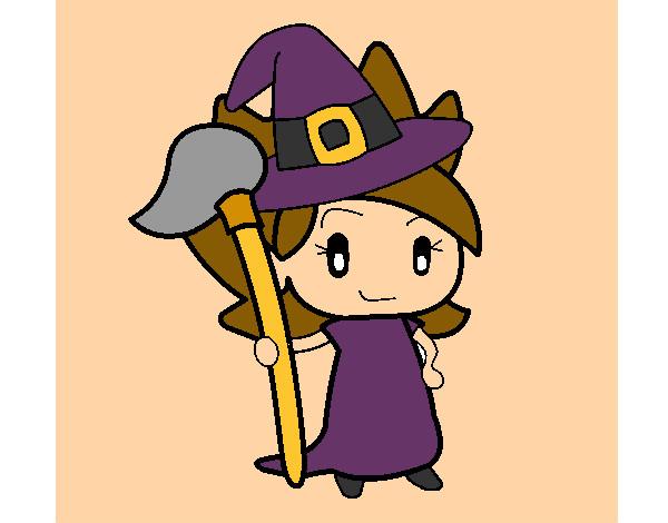 desenhos de bruxas para colorir colorir com