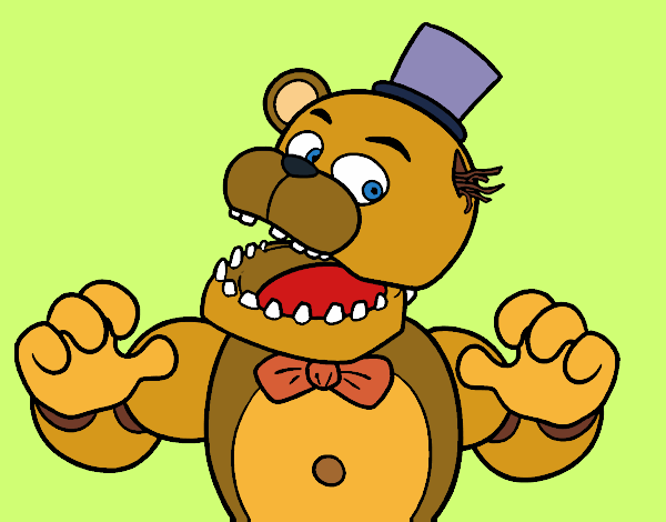 desenhos de five nights at freddy s para colorir colorir com