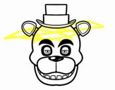 Cara de Freddy de Five Nights at Freddy's