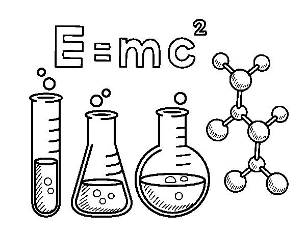 Desenho De Aula De Quimica Para Colorir Colorir Com