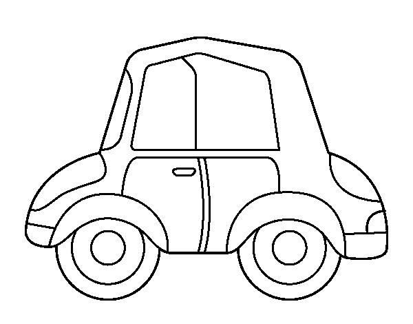 Desenho De Carro Antigo Para Colorir Colorir Com