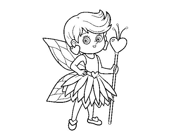 Desenhos Para Colorir Fadas E Princesas