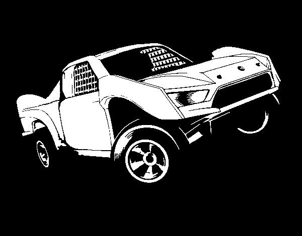 Desenho de Hot Wheels Ford para Colorir - Colorir.com