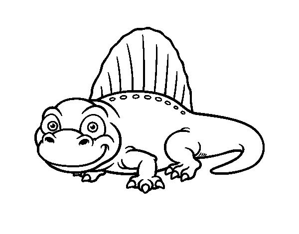Desenho De Lagarto Espinho Para Colorir Colorir Com