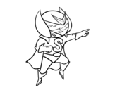 Desenho De Supergirl Para Colorir Colorircom