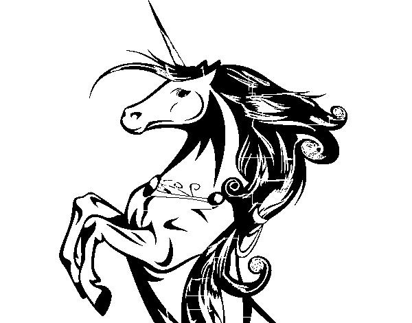 Desenho De Unicornio Magico Para Colorir Colorir Com